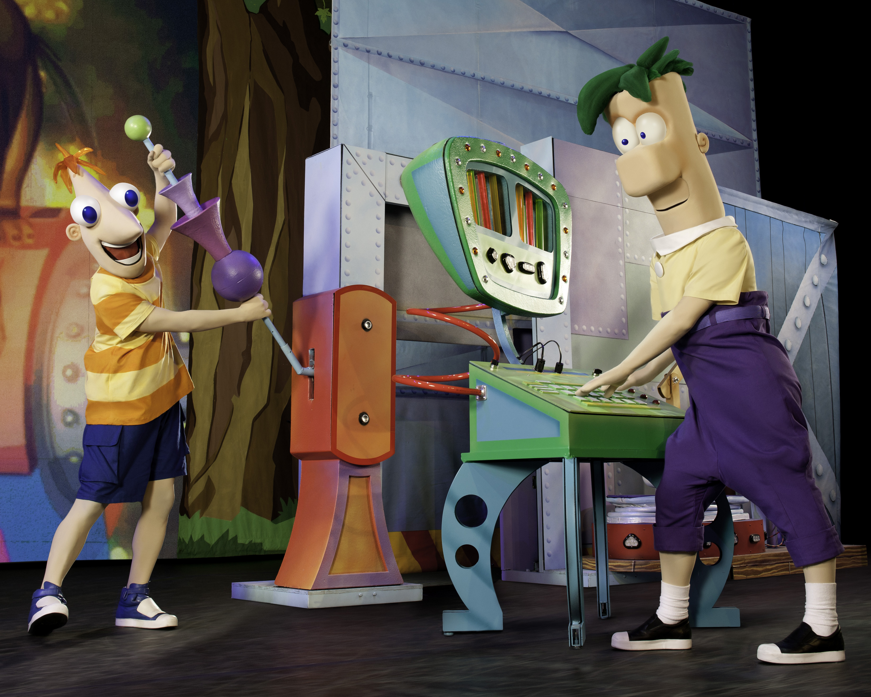 Phineas and Ferb Live – The show must go on!