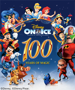 Disney on Ice, 100 years of Magic – family 4 pack giveaway!