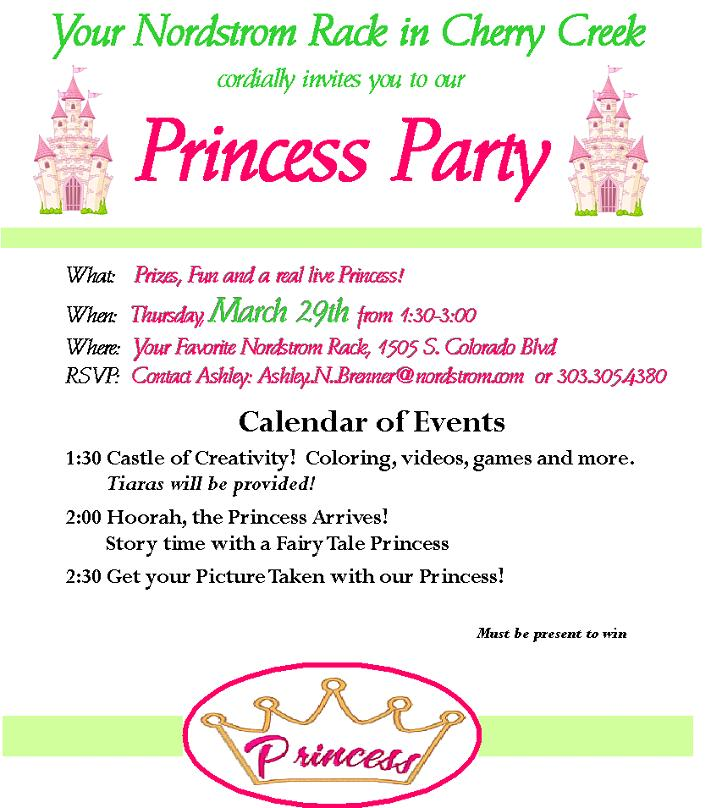 Once Upon a Princess Party!