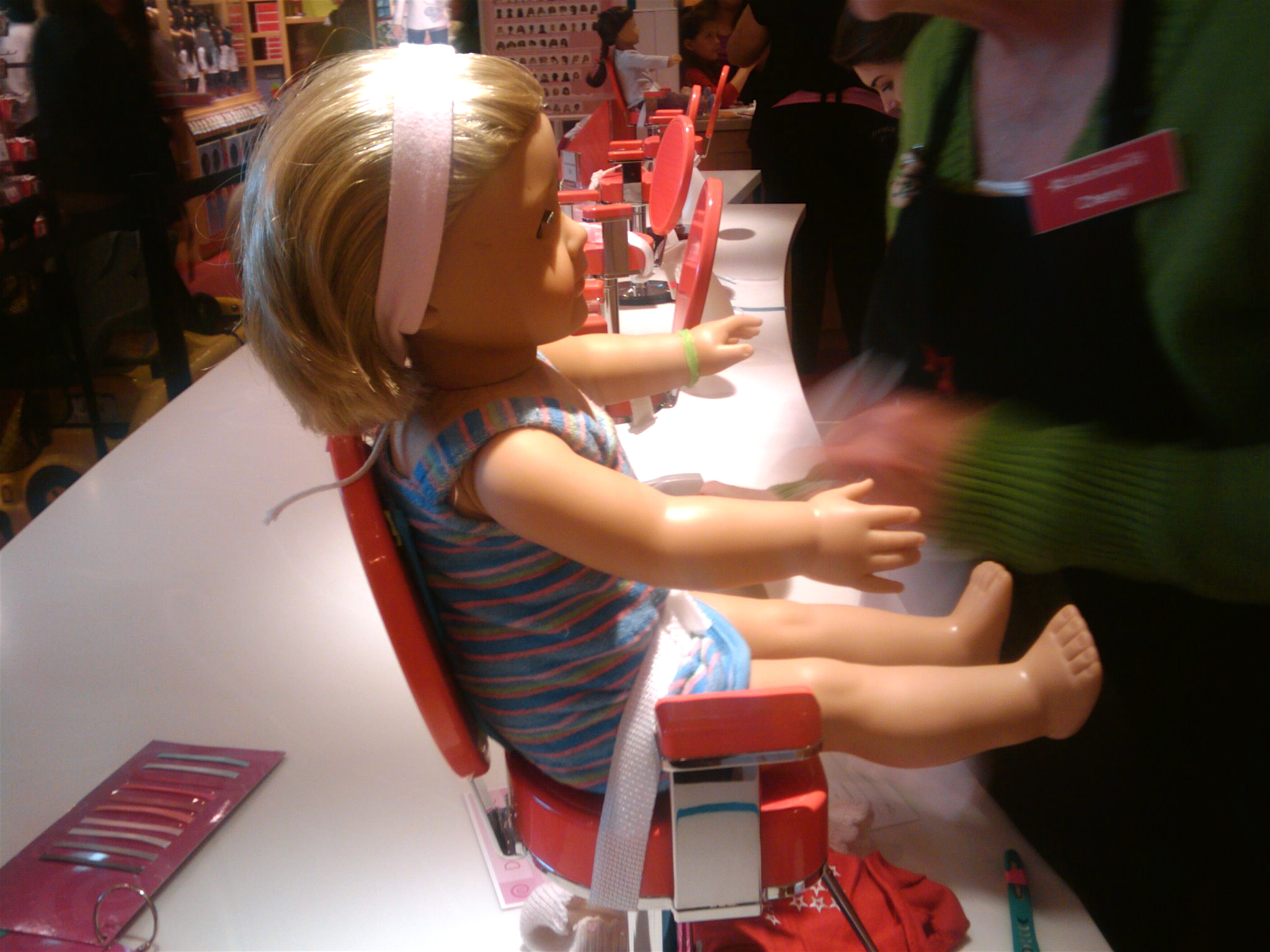 American Girl Doll Store Pampers Denver