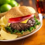 SOUR CREAM BURGERS – YUM!!!!